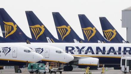 Ryanair has announced eight new routes from Belfast City for summer 2021 (Niall Carson/PA)