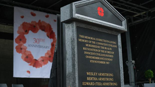 The memorial was removed just hours after being put in place last year