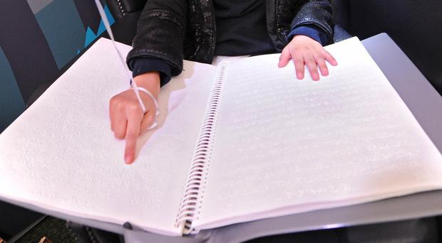 Offenders are converting children's books into Braille (Matt Crossick/PA)