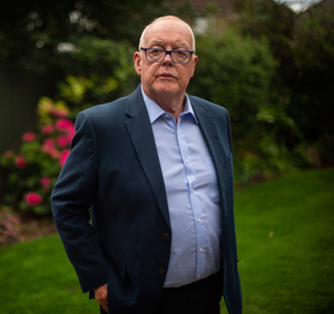Michael O'Hare, whose schoolgirl sister Majella was shot was she walked to church in 1976