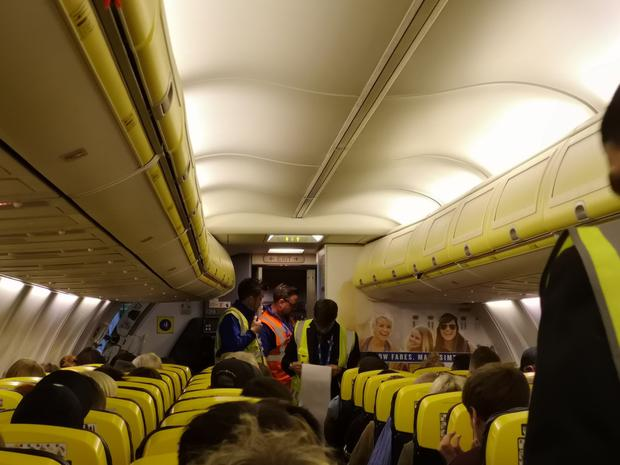 Staff trying to work out passenger numbers and who was onboard