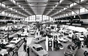 Some of the cars on show in 1973