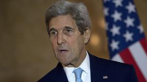 US secretary of state John Kerry will be presented with the Tipperary International Peace Award for 2015