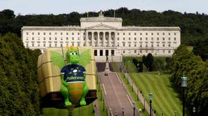 Hot air was in abundance at Stormont