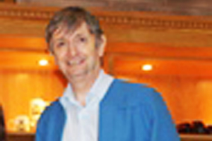 Noel Little in his role as steward at St Anne's Cathedral