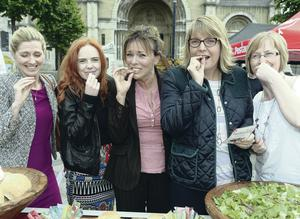 Buzz feed: Tourist Board staff in Belfast try some of the delicacies