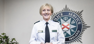 Detective Chief Superintendent Barbara Gray at PSNI headquarters in Belfast