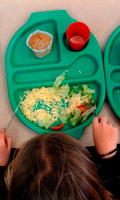Budgets: Schools have been told they will have to pay for hot meals for pupils