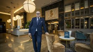 Stephen Meldrum is general manager of the Grand Central Hotel in Belfast (PA)