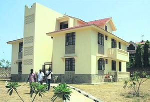 The house in Mombasa, where Samantha Lewthwaite is believed to have been