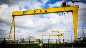 The Harland & Wolff cranes