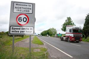 A border crossing with the Republic