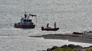 Members of the public joined search and rescue teams in the hunt for missing kayaker Robert Hanna from Carrickfergus