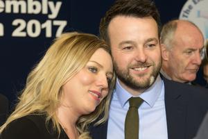 SDLP's Colum Eastwood and wife Rachael