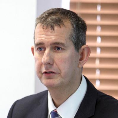 Health Minister Edwin Poots is considering the future of services for children with congenital heart birth defects