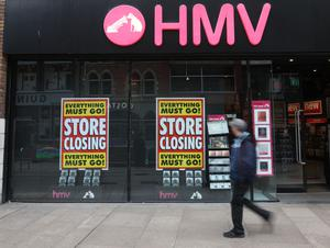 Closing: HMV in Belfast
