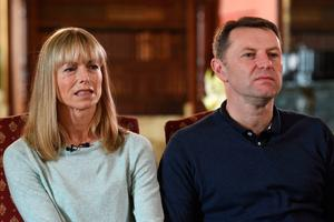 Kate and Gerry McCann, the parents of Madeleine