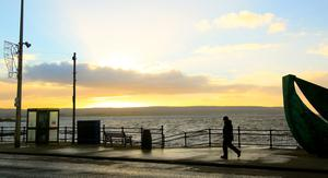 Portstewart yesterday