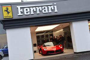 Charles Hurst's Ferrari showroom is being heated by taxpayer cash.