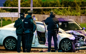 Lucy McIlhatton died after a crash on the Springfield Road in west Belfast on Sunday evening