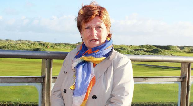 Wilma Erskine played a huge role in bringing The Open back to Northern Ireland.