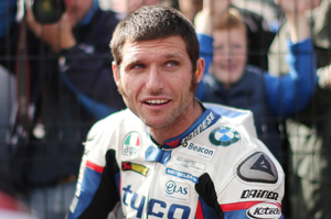 Guy Martin was badly injured in a spill at Dundrod last week