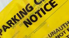 The £40 parking ticket received by the nurse
