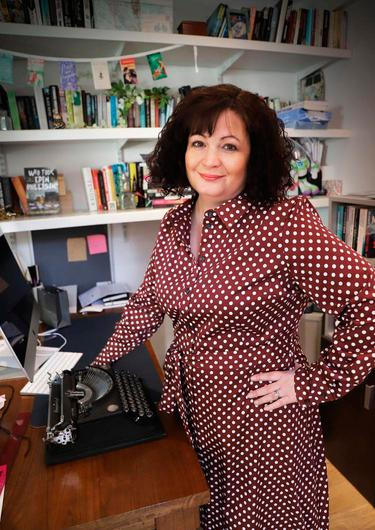 """Belfast author Sharon Dempsey said libraries are """"the life blood of communities"""""""