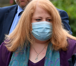 Dignity: Naomi Long paid tribute to the families of those who lost their lives