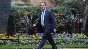 Scottish Secretary Alister Jack said he expects the PM to announce a feasibility study on an Irish Sea road crossing (PA)