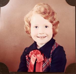 Naomi Long as a four-year-old