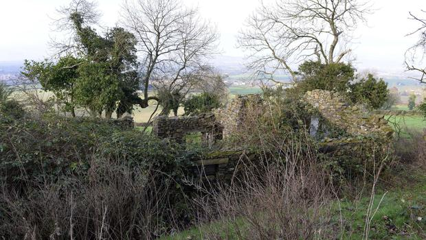 The site upon which council have declined planning permission