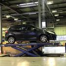 The majority of vehicle lifts at Northern Ireland test centres are faulty