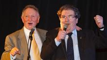 Phil Coulter and John Hume singing The Town I Loved So Well