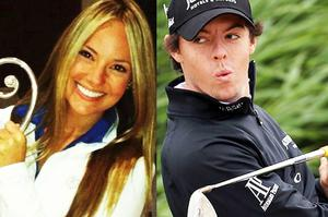 Love is in the air for Erica Stoll and Rory McIlroy