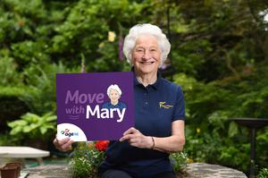 Lady Mary Peters hopes to get older people moving during lockdown