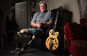 Mark Kelly forged a career in music despite losing his legs in a UVF pub bombing in 1976