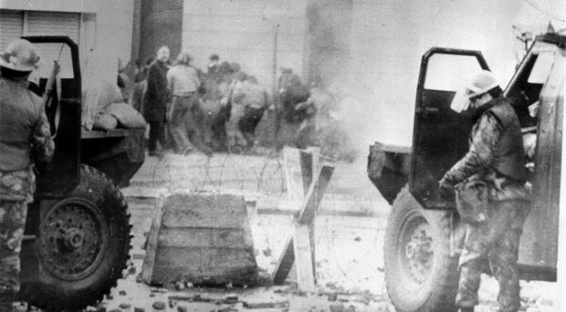 The case is in relation to the shootings in Londonderry on January 30 1972 (PA)