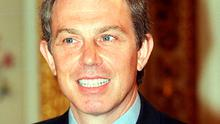 Lauded: former PM Tony Blair was praised for his role in Northern Ireland