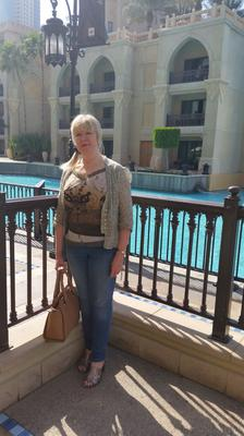 Valerie Westfield in Dubai during her time working for the Saudi royal family