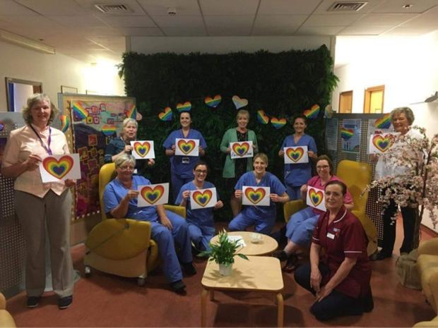 Bright outlook: The Rainbow Room in the Mater Hospital