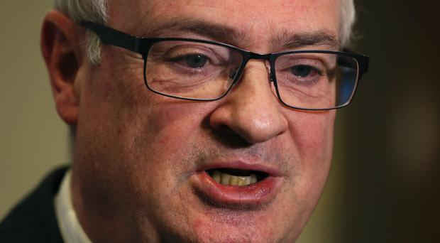 Incoming UUP leader Steve Aiken has come under pressure over his stance against backing a unionist electoral pact. (PA)