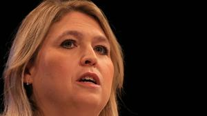 Karen Bradley was given a number of pictures of Stephen McConomy (Peter Byrne/PA)