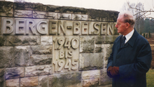 Lord Molyneaux making a return visit to Belsen