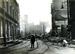 Entire buildings razed at Bridge Street