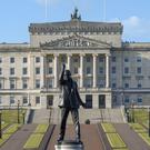 People Before Profit leader Gerry Carroll has criticised the introduction of a number of stalled salary increases for MLAs (Steve Parsons/PA)
