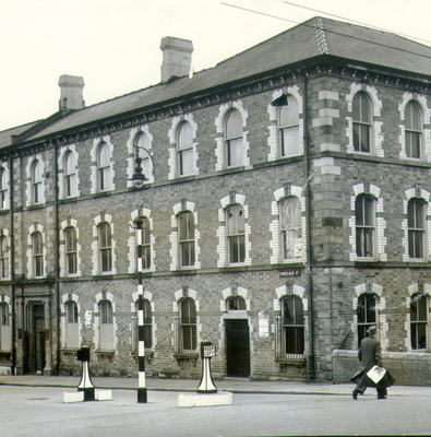 Historic: Havelock House in 1959, when it was taken over by Ulster Television from J.M. Ritchie & Co to become the headquarters of the fledgling TV station