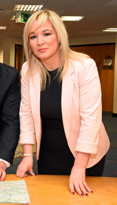 Michelle O'Neill says the First Minister must take herself out of the firing line to aid RHI probe