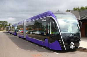 The Glider bus service went into operation in September 2018