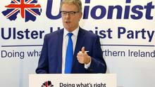 Ulster Unionist Party leader Mike Nesbitt at the launch of the party's document entitled Our Vision for You' The Voter